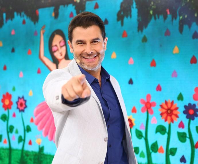 Dr. Fernando Gomes Pinto comenta a fama de galã (Foto: Fabiano Battaglin/Gshow)