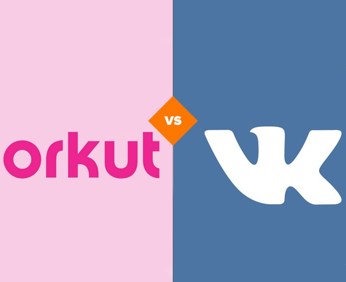 Comparativo entre Orkut e VK (Foto: Arte/TechTudo)