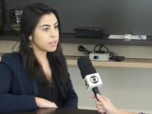 Advogada Laís Marques (Foto: Dalyne Barbosa)