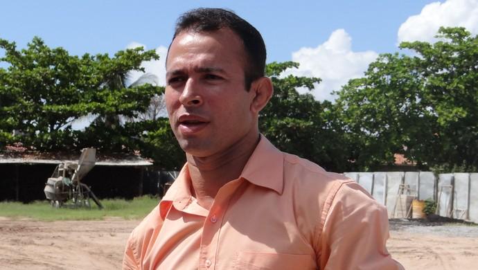Diretor esprote Barra S. Minguel Eduardo Acioli (Foto: Viviane Leão/GLOBOESPORTE.COM)
