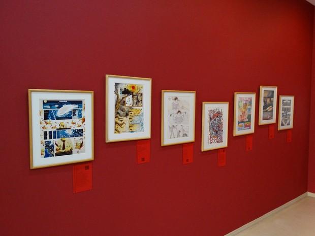 quadros parede mamm (Foto: Rafael Antunes/G1)