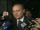 'Usei o avião na representação como presidente do Senado', diz Calheiros