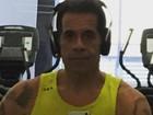 Leandro Hassum comemora boa forma: 'Muito feliz, 65 kg eliminados'