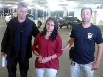 Aline Macedo (Foto: Divulgação/Polícia Civil de MT)