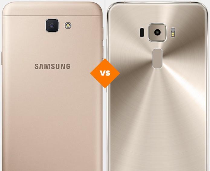 Confira o comparativo entre o Galaxy J7 Prime e o Zenfone 3 (Foto: Arte/TechTudo)