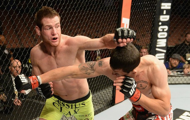 UFC 181 - Alex White x Clay Collard (Foto: Robert Laberge / Getty Images)