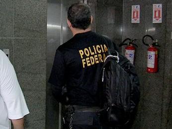 PF faz operação contra quadrilha que desviava verbas de prefeituras de MT (Foto: Reprodução/TVCA)