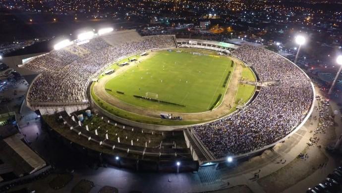 Almeidão, Almeidão do alto, Série C, Botafogo-PB x Boa Esporte (Foto: Divulgação / PM da Paraíba)