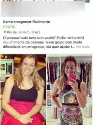 Anúncios estavam em diversos grupos de redes sociais (Foto: Reprodução/Marina Íris/Instagram)