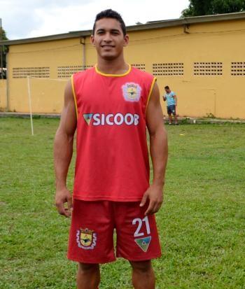 Luiz Heudes, zagueiro do Galvez (Foto: Nathacha Albuquerque)