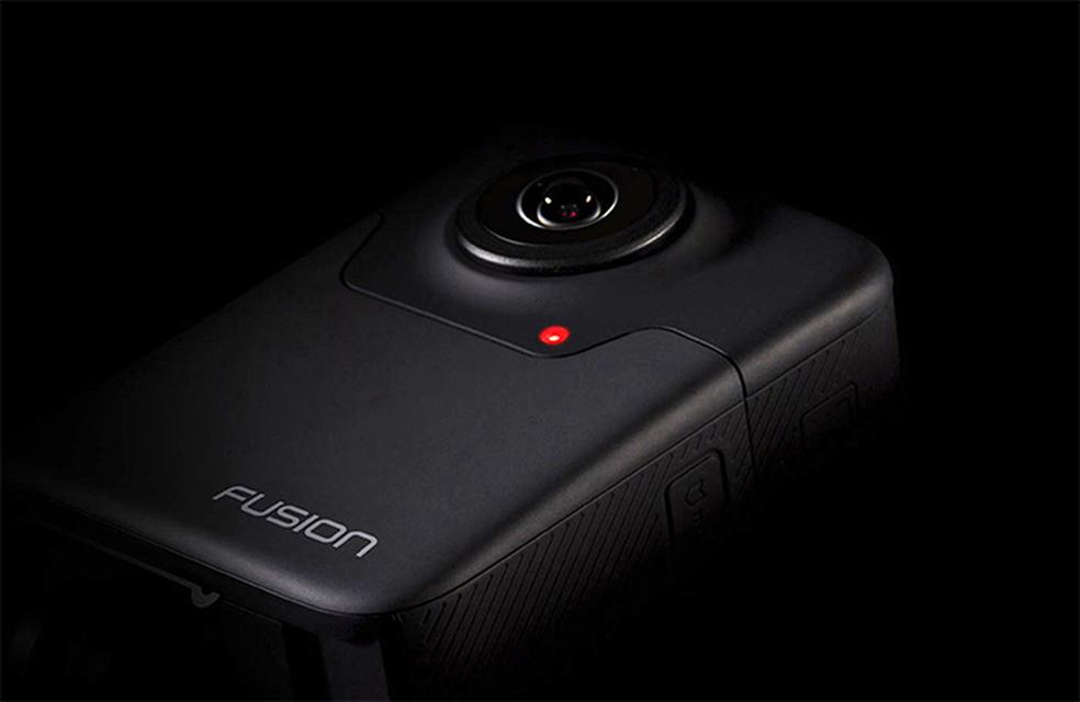 GoPro Fusion é a primeira câmera da marca destinada a criação de vídeos em 360° para realidade virtual (Foto: Divulgação/GoPro)