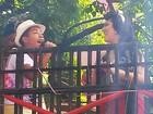 Tavinho Leoni, do The Voice Kids, canta (Pedro Ângelo/G1)