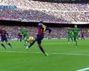 """Neymar """"sem querer querendo"""", voleio de Suárez e show de Messi: pacotão do Barça"""