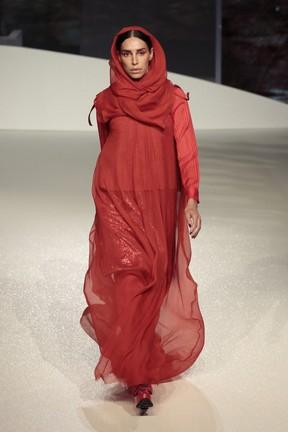 LEa T desfila em evento de moda em Brasília (Foto: Rafael Cusato/ Brazil News)
