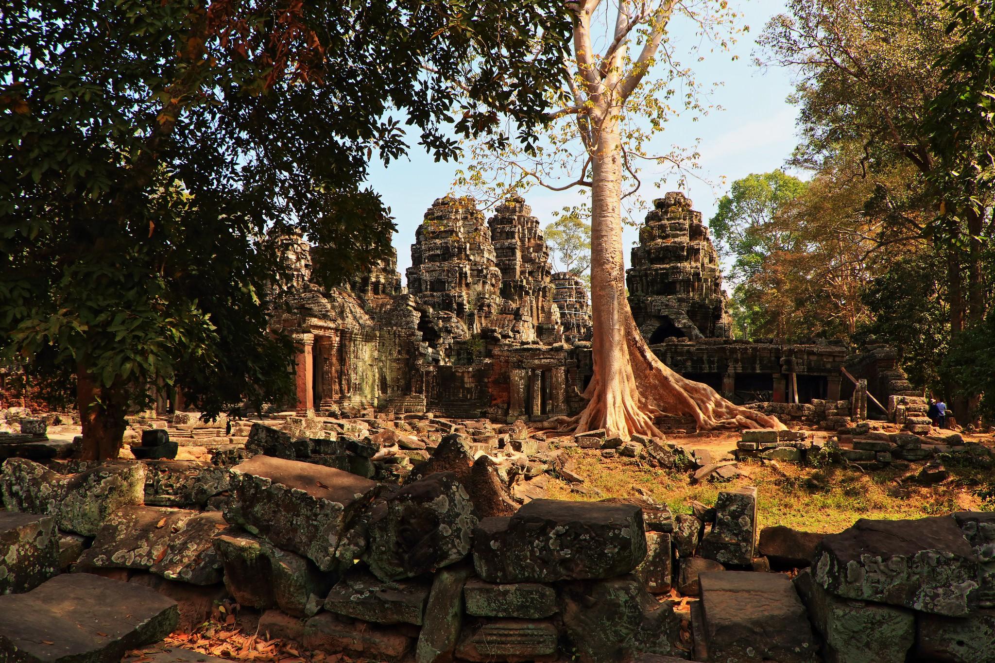 Região de Angkow, em Camboja (Foto: Flickr/Juan Antonio F. Segal)