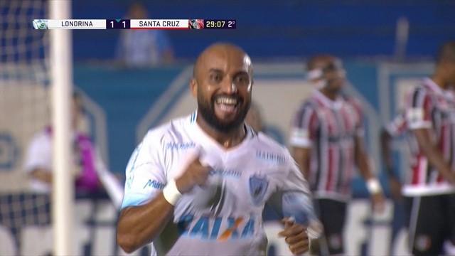 Londrina x Santa Cruz - Campeonato Brasileiro Série B 2017-2017 ... 6673492b57244