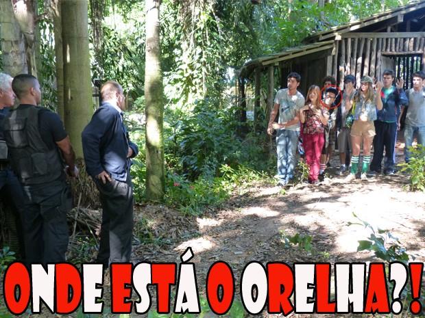 Onde está o Orelha?! (Foto: Malhação/ TV Globo)