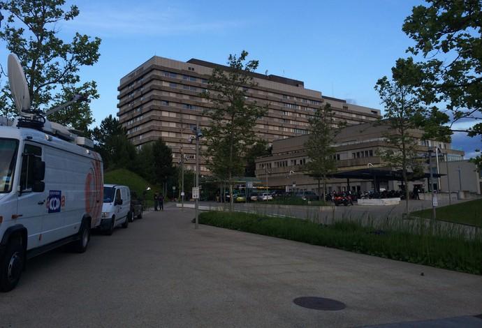 Centro Hospitalar Universitário de Vaudois schumacher suíça (Foto: Bianca Rothier)