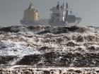 FOTOS: Tempestade Cleópatra atinge a Itália