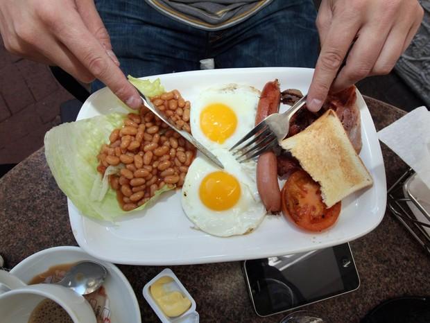 Café da manhã inglês (Foto: Getty Images)