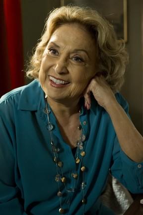 Eva Wilma está internada com embolia pulmonar (Foto: Globo/Estevam Avellar)