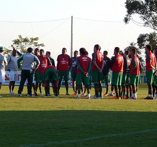 Chapecoense apresenta treino (Foto: Laion Espíndula)