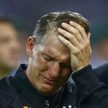 Schweinsteiger chora na despedida da seleção alemã (Foto:  REUTERS/Thilo Schmuelgen )