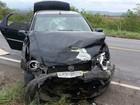 Três pessoas ficam feridas em acidente na MG-122, no Norte de MG
