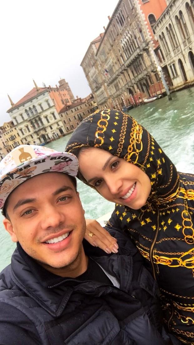 Wesley Safadão e Thyane Dantas (Foto: Reprodução/Instagram)