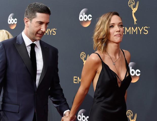 David Schwimmer e Zoe Buckma (Foto: Getty Images)
