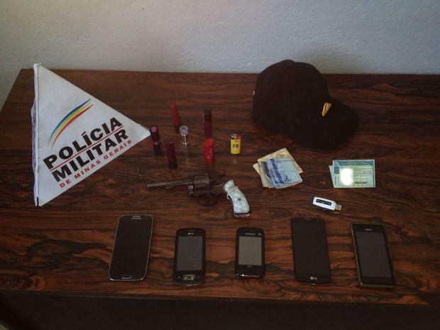 Assalto Lanchonete BR494 Divi (Foto: Policia Militar/ Divulgação)