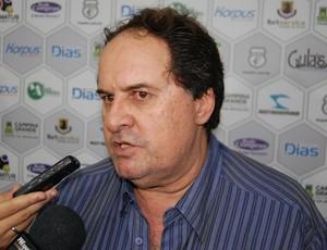 Robson Régis, presidente do Conselho Deliberativo do Treze (Foto: Silas Batista / GloboEsporte.com)