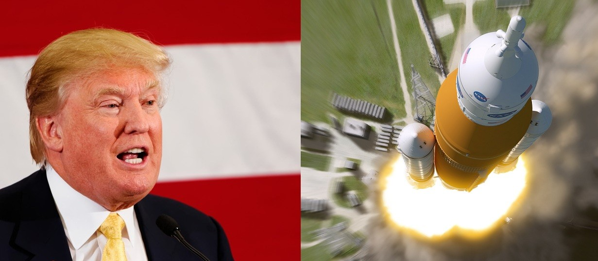 NASA negou pedido de Trump de enviar astronautas à Lua em 2019 (Foto: reprodução)