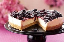 Nigella: cheesecake de cereja
