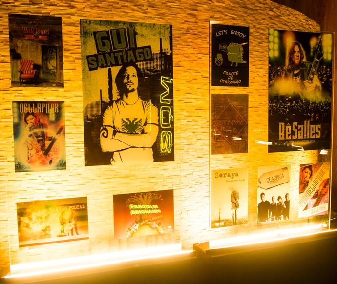 Vídeo 360° acompanha Gui Santiago pelos diferentes ambientes da gravadora Som Discos (Foto: João Miguel Júnior/TV Globo)