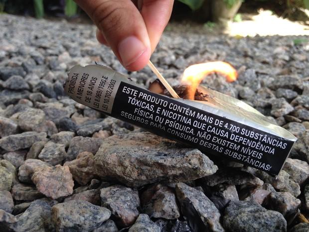 Alagoas reduz o número de fumantes nos últimos anos (Foto: Micaelle Morais / G1)
