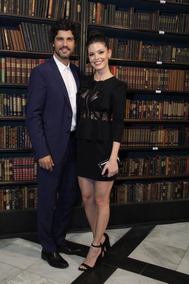 Vitória Strada e Bruno Cabrerizo (Foto: Agnews)
