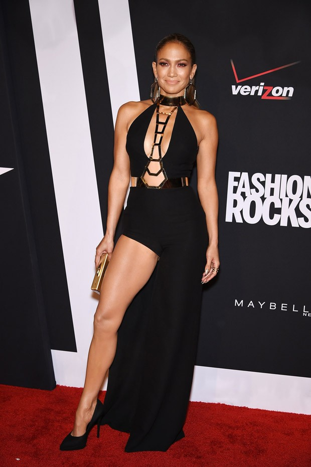 Jennifer Lopez no Fashion Rocks 2014 (Foto: Getty Images)