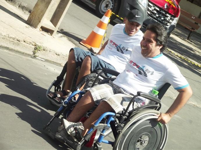 Corrida dos Cadeirantes Teresina 2015 (Foto: Abiné Júnior)