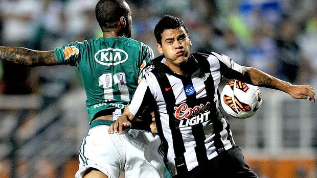 William Mendieta Libertad jogo Palmeiras (Foto: AFP)