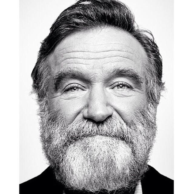Robin Williams - mais uma das fotos mais postadas pelas redes sociais (Foto: Reprodução INstagram)
