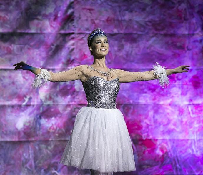 Tancinha encanta em apresentação final de balé (Foto: Isabella Pinheiro/Gshow)