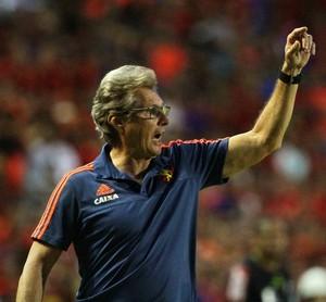 Oswaldo de Oliveira Sport x Atlético-MG Série A (Foto: Marlon Costa / Pernambuco Press)