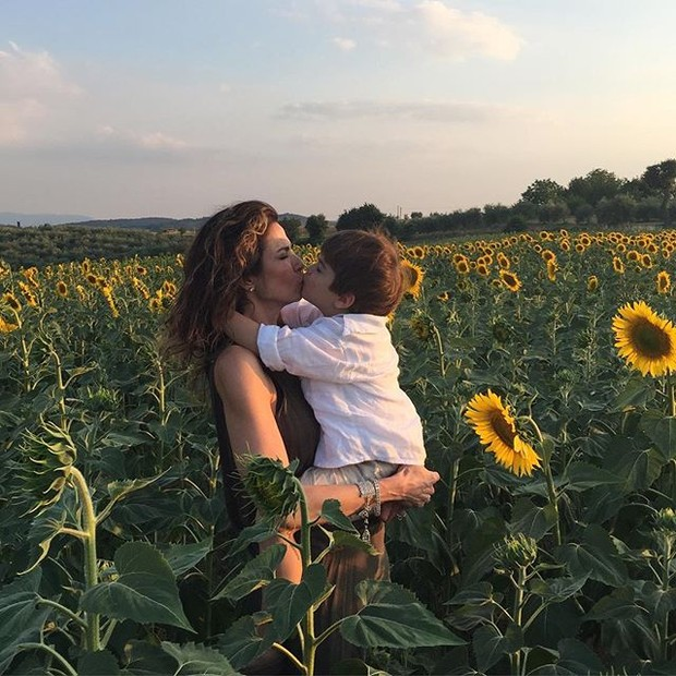 Luciana Gimenez e o filho Lorenzo (Foto: Reprodução/Instagram)