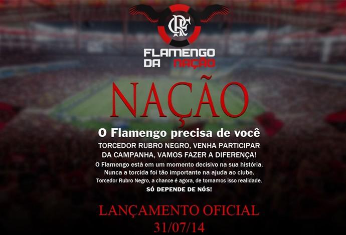 Doação Flamengo (Foto: Reprodução)