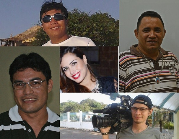 Aniversariantes do mês de novembro (Foto: Montagem - Priscila Miranda/ TV Tapajós)