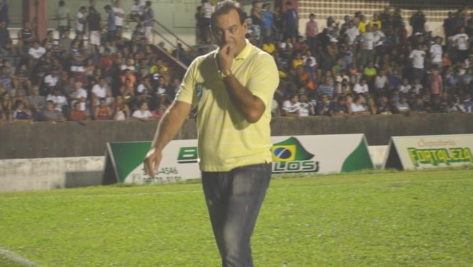 Vitor Hugo, treinador Tapajós (Foto: Michael Douglas/Globoesporte.com)