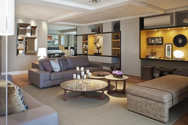 contempor neo com personalidade casa vogue apartamentos