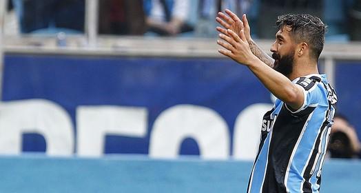 faro de artilheiro (Lucas Uebel/Divulgação Grêmio)