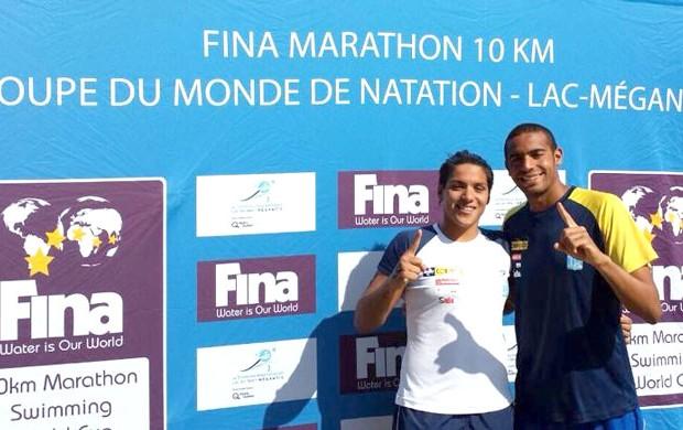 Ana Marcela e Allan do Carmo Maratona Aquatica